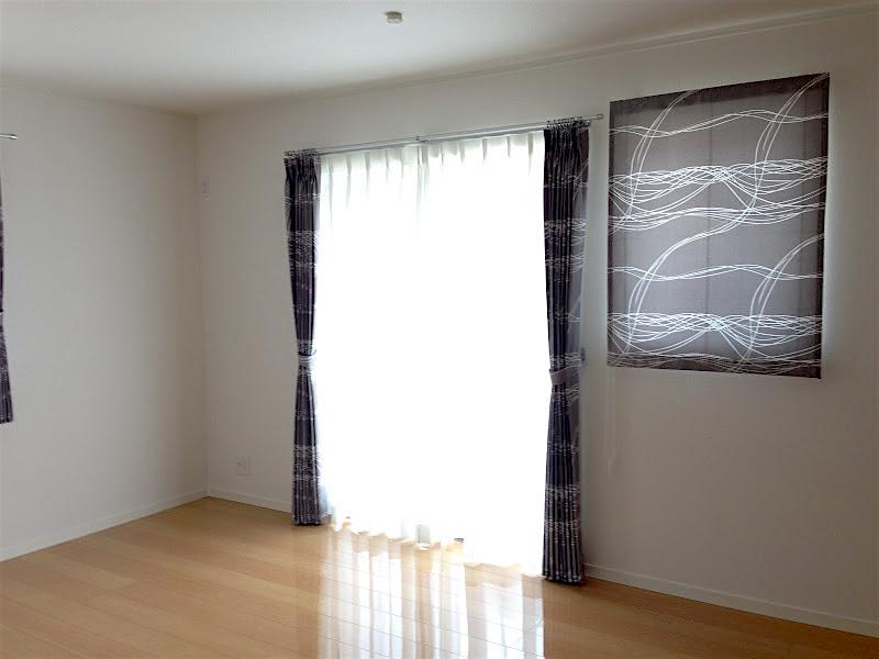 町田市木曽西 S様 シンプルモダンなカーテン