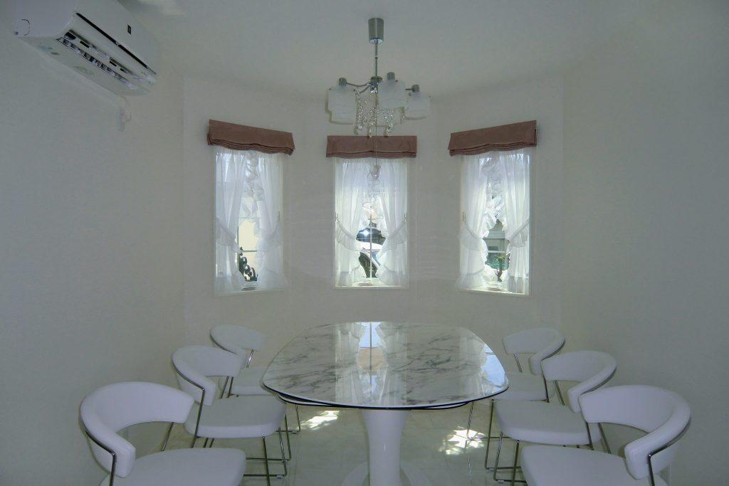 オーダーカーテン-フリル-ギャザー-小窓-町田市