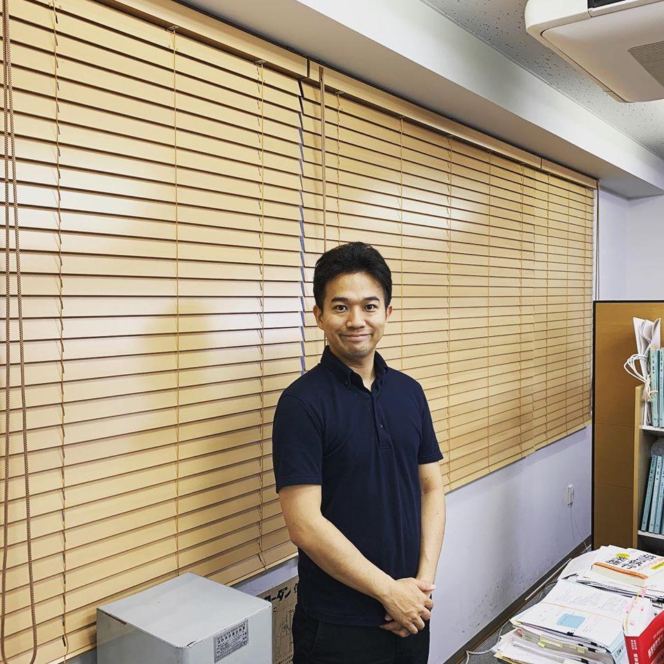 ブラインド-木製-オフィスインテリア-町田市-神永弁護士