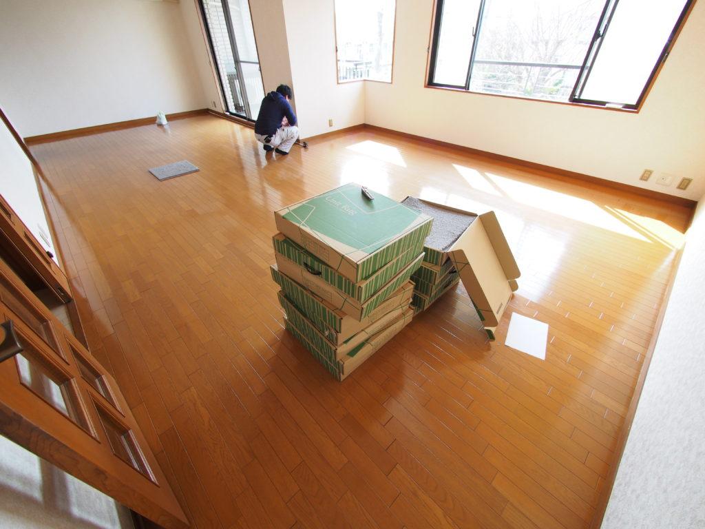 タイルカーペット-一般住宅用-ふかふか-町田市-施工実績