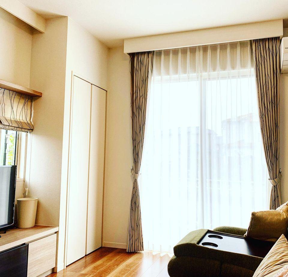 オーダーカーテン-新築住宅-相模原市-カーテンボックス-シェード
