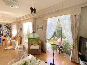 オーダーカーテン-バランス-上飾り-房タッセル-トリム-オーダー-大和市-大和-町田-森の風