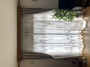 カーテン-リビング-ドレープ-町田市-施工事例-オーダーカーテン