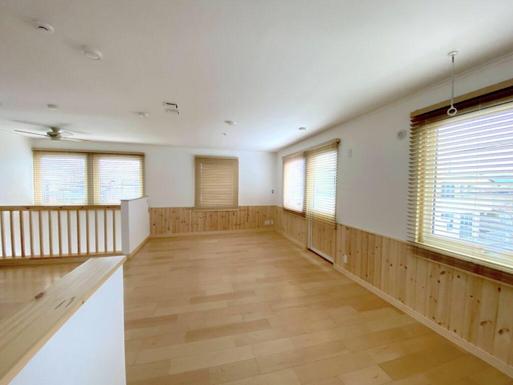 木製ブラインド-ウッドブラインド-スウェーデンハウス-北欧-インテリア-町田市-ナチュラル