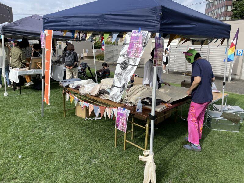 はぎれマーケット in レインボーピクニック