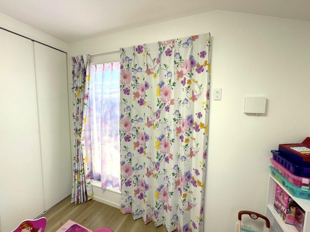 オーダーカーテン-ディズニー-Disney-子ども部屋-子供部屋-キッズ-かわいい-町田-01